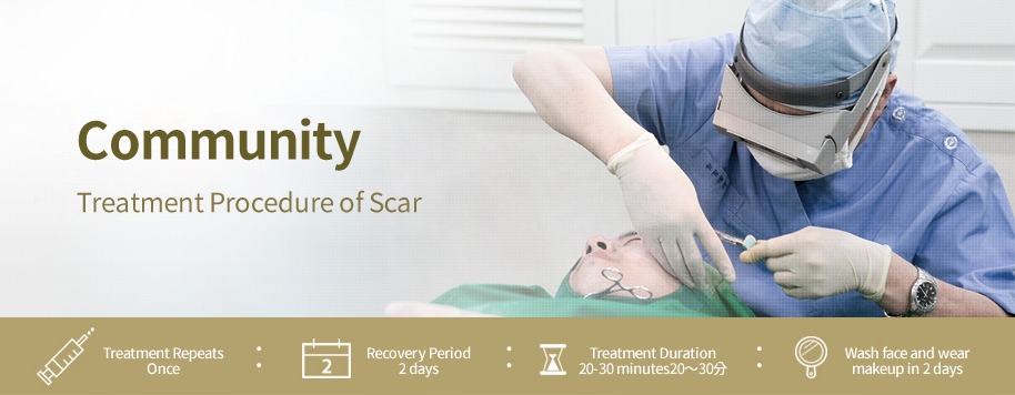 Treatment Procedure of Scar